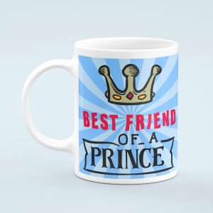 Personalised Best Friend of a Prince Mug