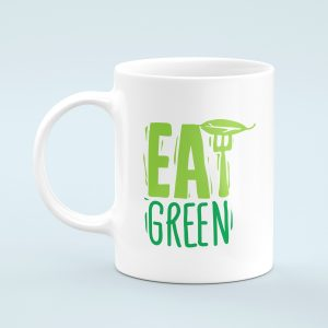 Eat Green Vegan Mug