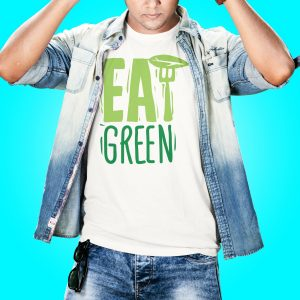 Eat Green Vegan T-Shirt