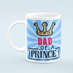 Personalised Dad of a Prince Mug