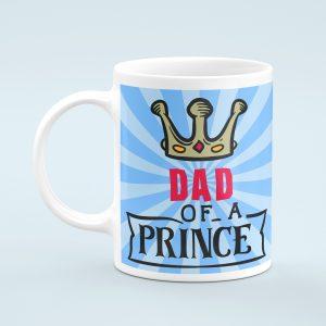 Personalised Dad of a PrinceMug